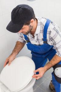 Installazione dei trituratori per WC